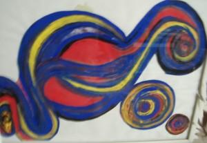Komposition Blaurot