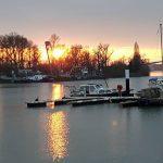 Hafen , Winterabend, Klaus Pompetzki440519536047239_4339611297806698443_n